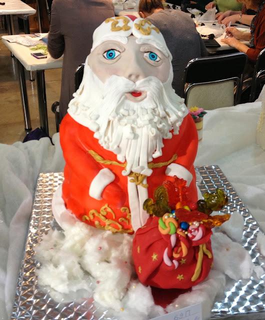 Новогодний торт, Дед Мороз