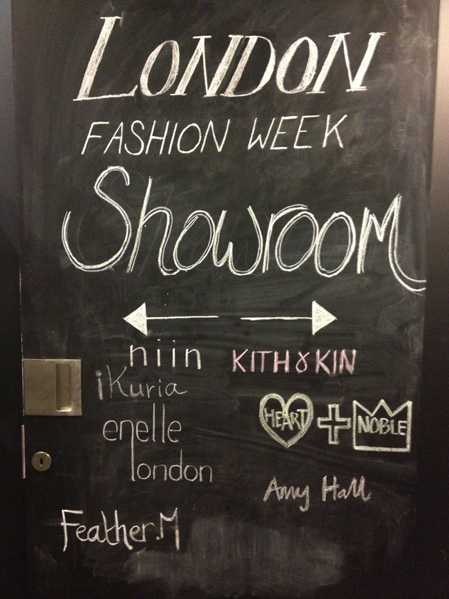 #LFW - Wolf & Badger Showroom