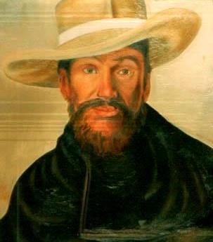 José Faustino Sanchez Carrión con sombrero