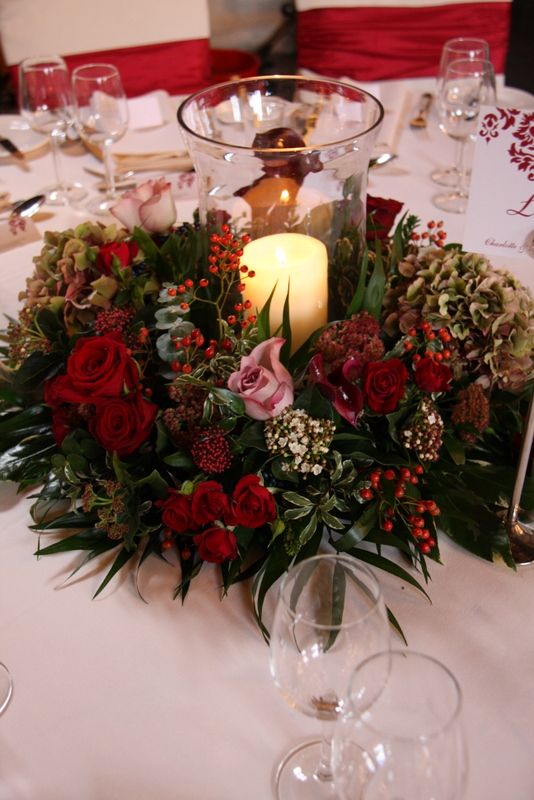 Quot Ruby Reds Amp Black Pearls Quot The Elegantly Autumn Wedding