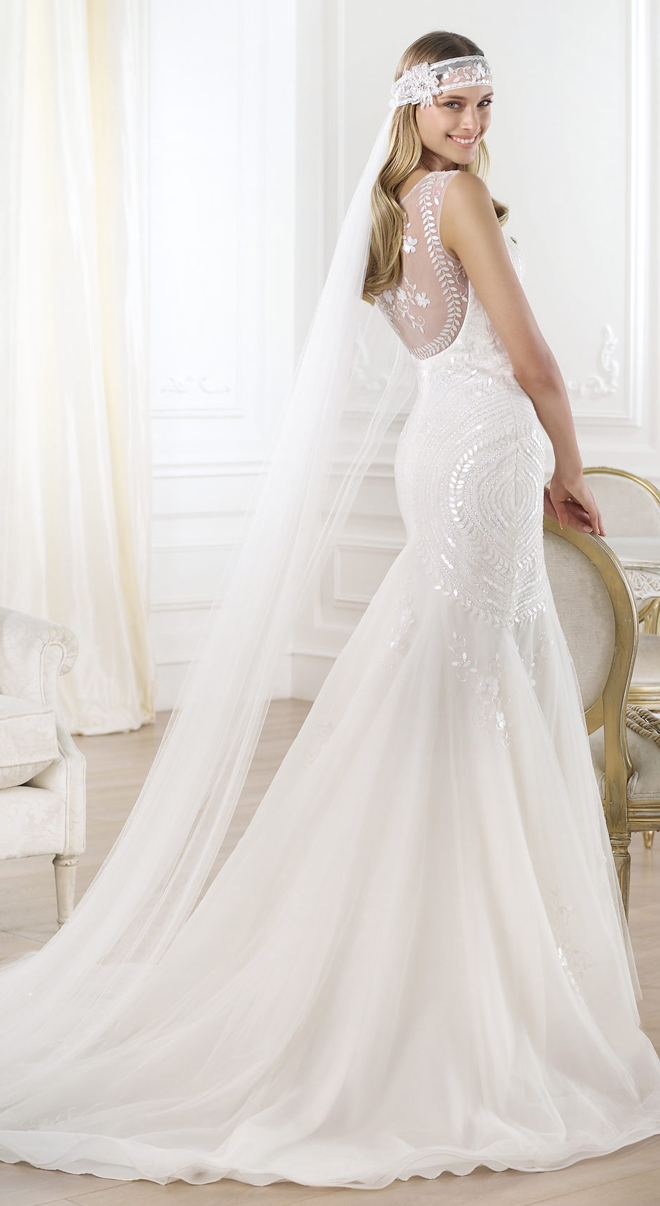 pronovias 2014 wedding dresses lagara c Pronovias 2014 Fashion Collection