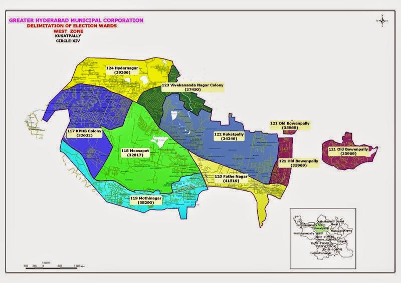 GHMC Circle 14 Map
