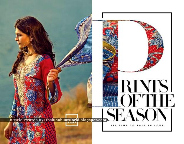 Sana Safinaz Lawn 2015-2016 Magazine