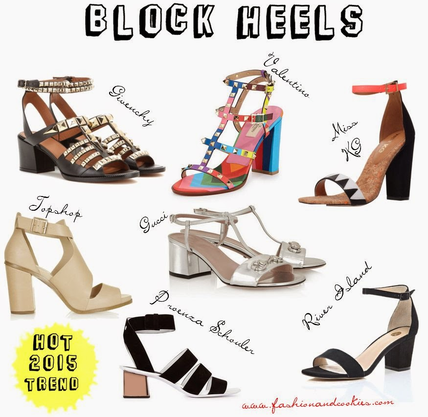 Block heels sandals image, best block heels, Block heels trend, Fashion and Cookies fashion blog shoes selection