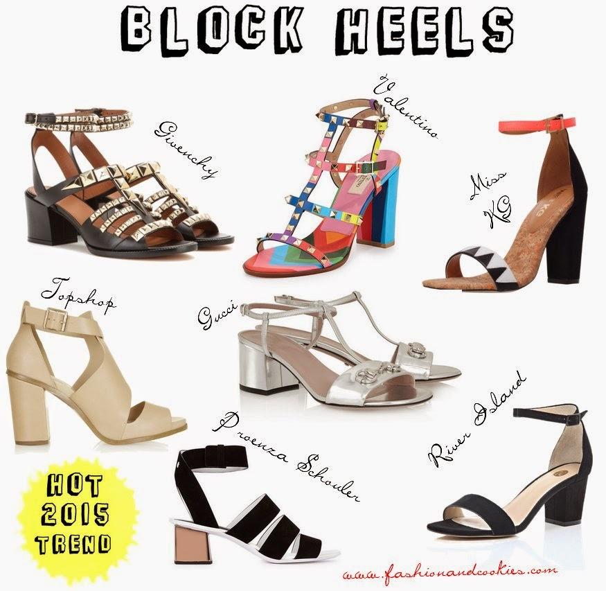 Block heels sandals image, best block heels, Block heels trend, Fashion and Cookies fashion blog shoes selection