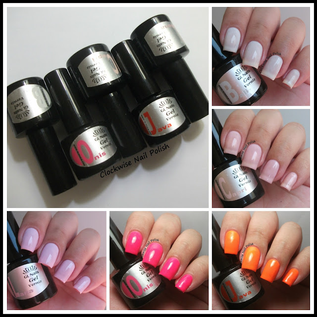 The Clockwise Nail Polish Gl Nails Um Presente Para A Vida Gel