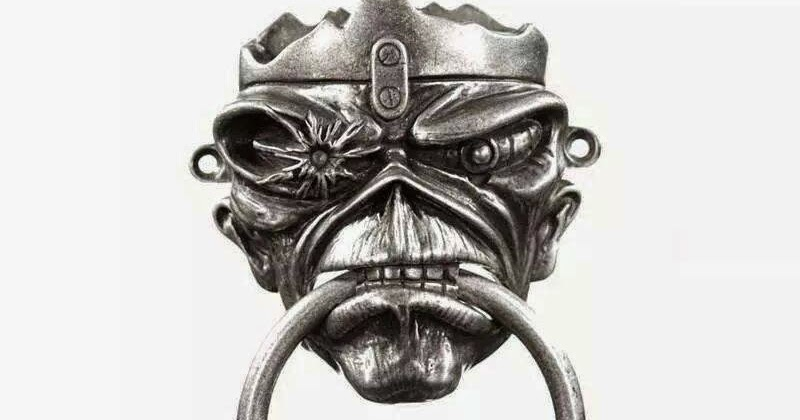Swing Your Pants Iron Maiden Eddie Door Knocker