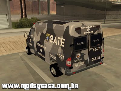 MB Sprinter GATE para GTA San Andreas