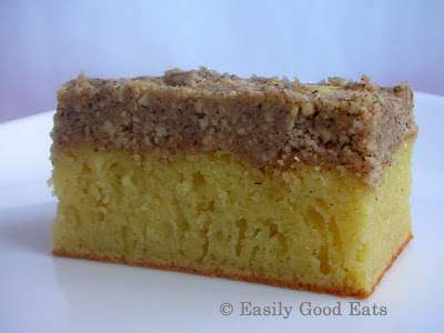 ... Good Eats: Orange Crumb Cake With Almond Cinnamon Crumb Topping Recipe