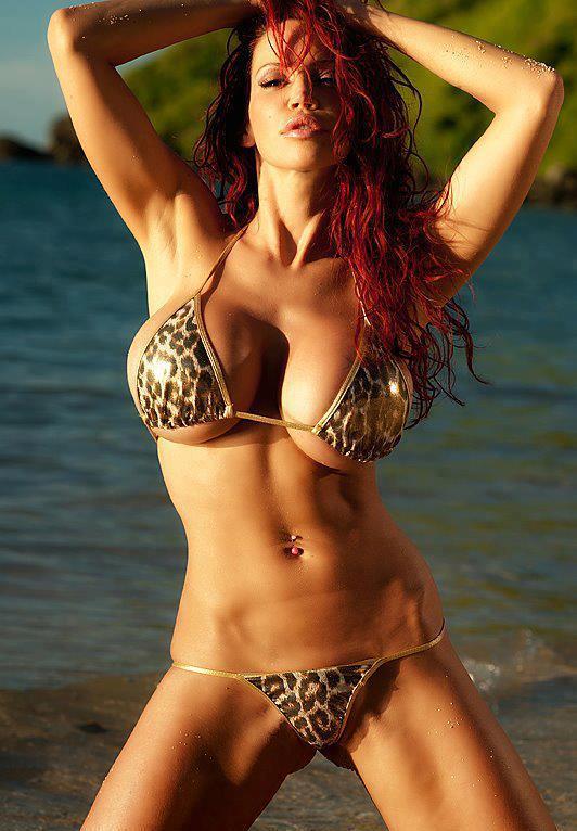 See Bikini devil tazzie