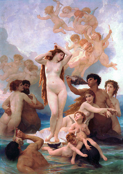 Резултат с изображение за adolphe william bouguereau venus