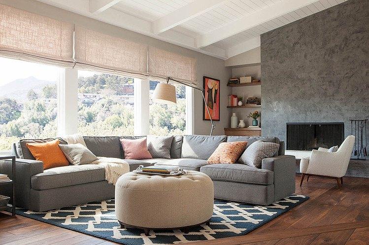 Modern Furniture: 2013 Luxury Living Room Curtains Designs Ideas