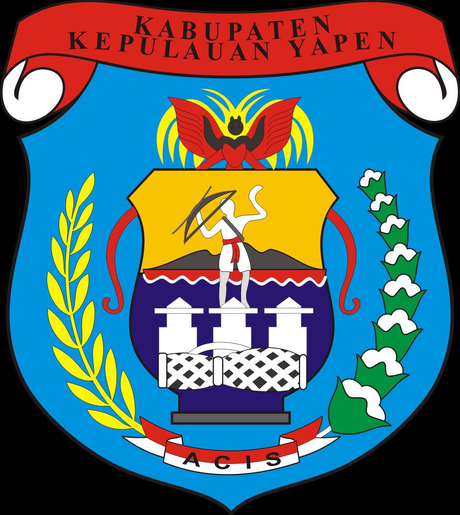 Logo Kabupaten Kepulauan Yapen - Logo Lambang Indonesia