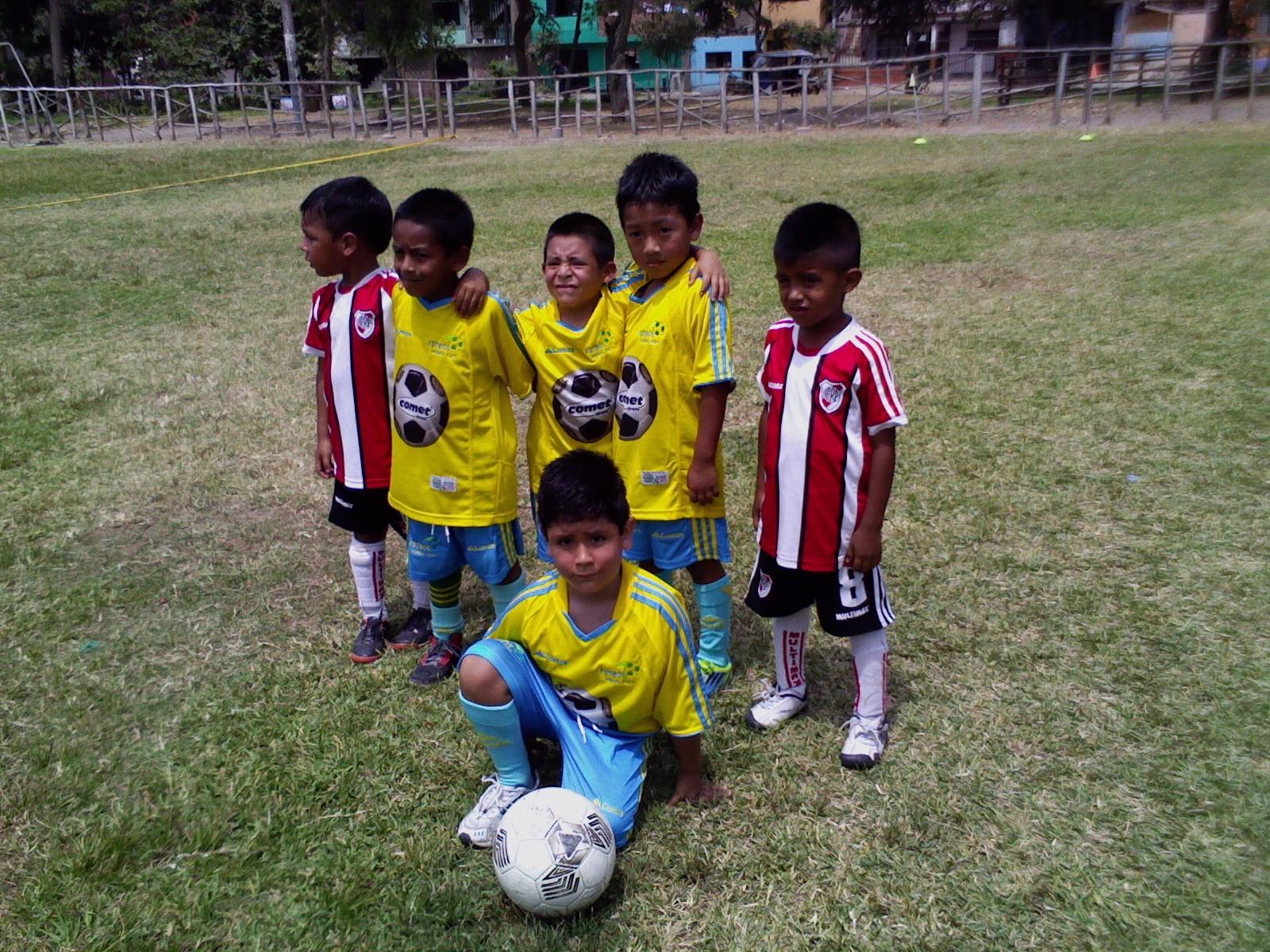 Visita de La Escuela River Plate -  Verano 2013