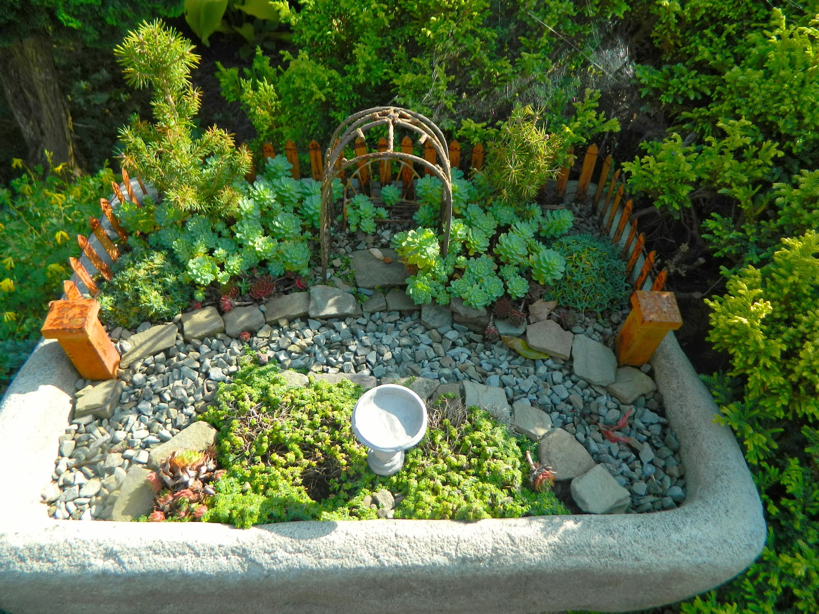 Image result for images of miniture gardens