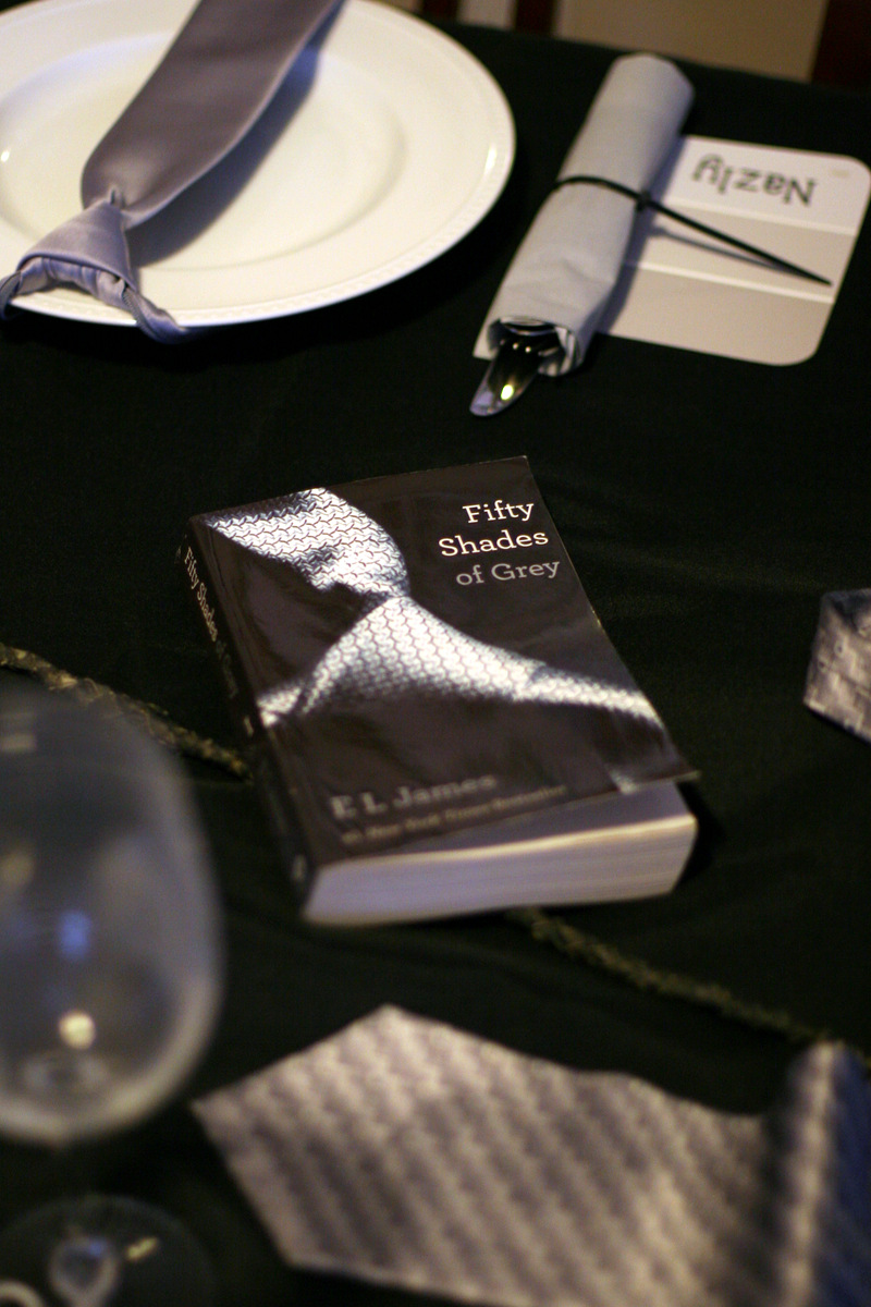 invite and delight fifty shades of fun the excitement over the book fifty shades of grey hit our monthly dinner girls this month the girls requested i do a party centered around this theme