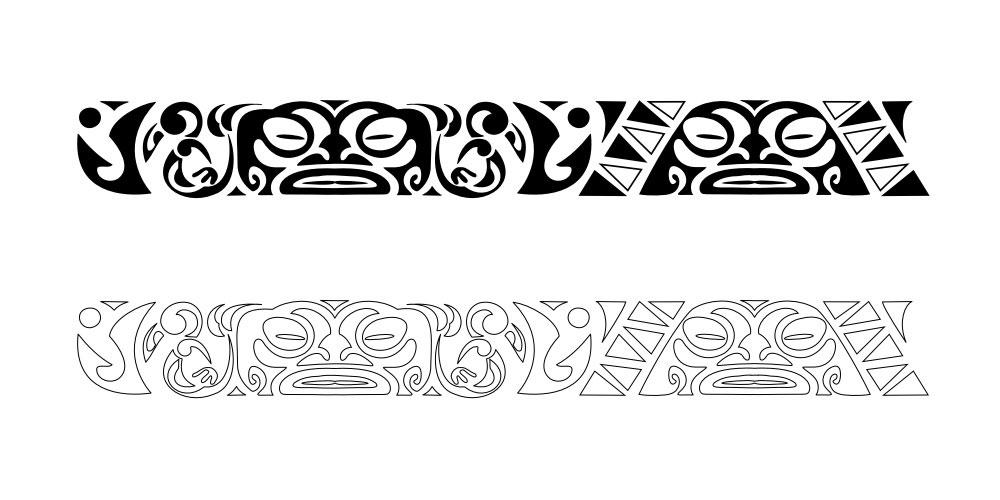 bluskytattoo maori significato 166. Black Bedroom Furniture Sets. Home Design Ideas