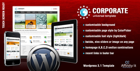 Corporate Easy v1.16 Wordpress Theme Free Download by ThemeForest.