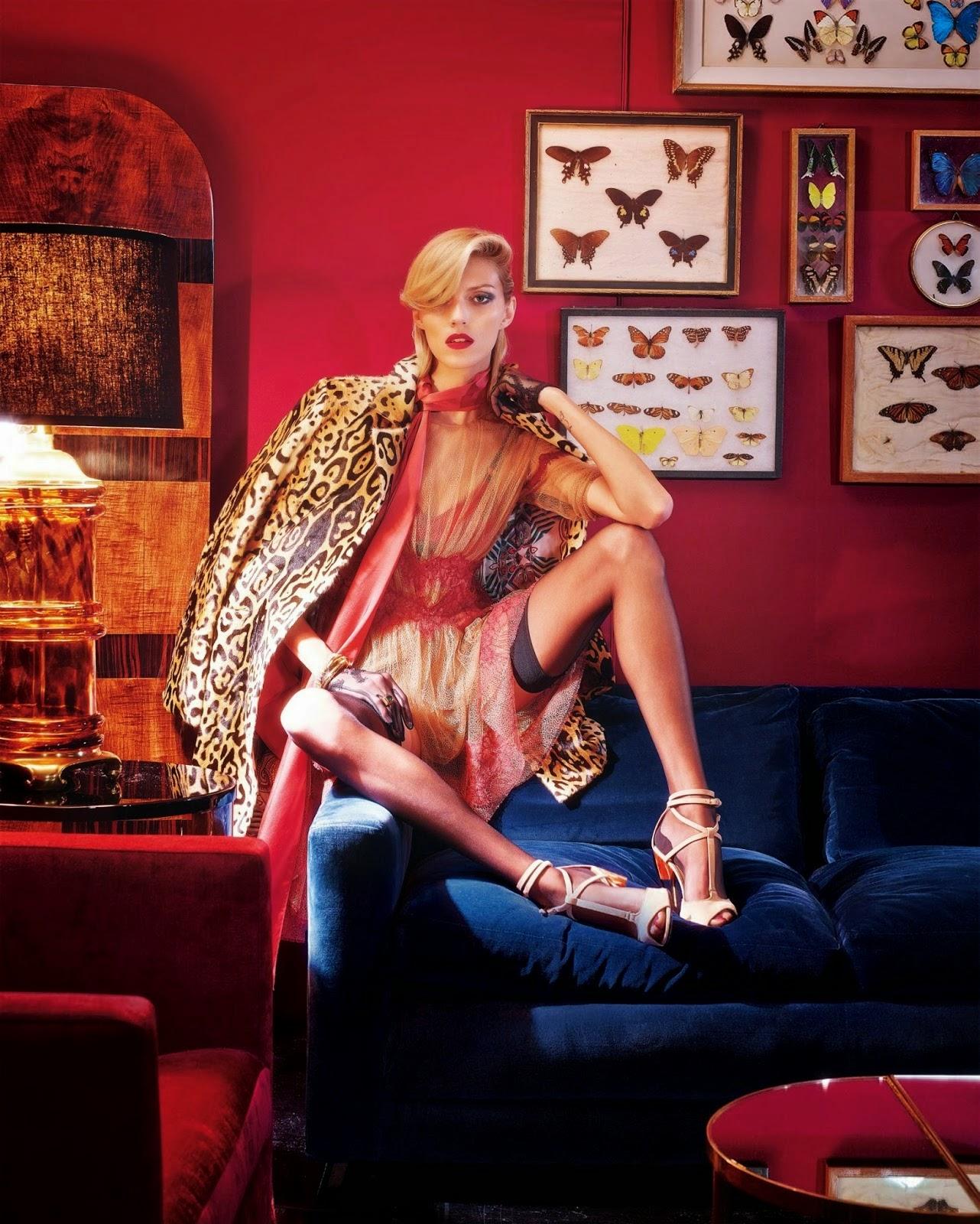 Anja Rubik & Daria Strokous - W Magazine, September 2014