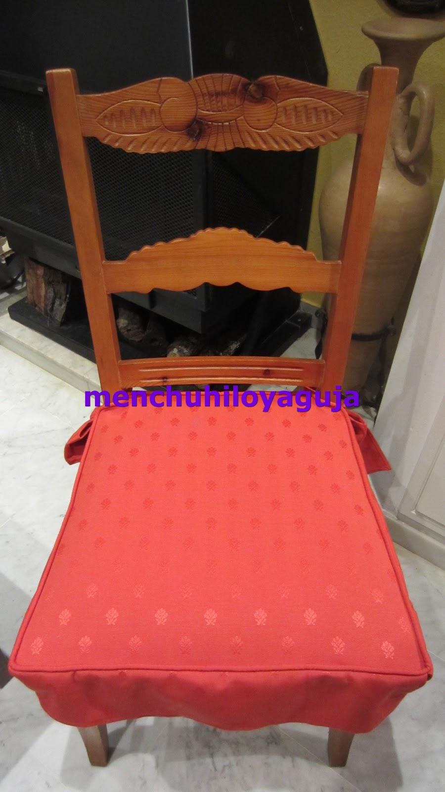 Patrones de costura fundas para sillas 2 for Fundas asiento sillas comedor
