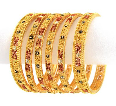 gold much a bangles youtube collection does latest piece how watch jewellery six cost bangle designs set premium