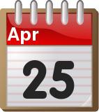 Σαν σήμερα στην ιστορία 25 Απριλίου