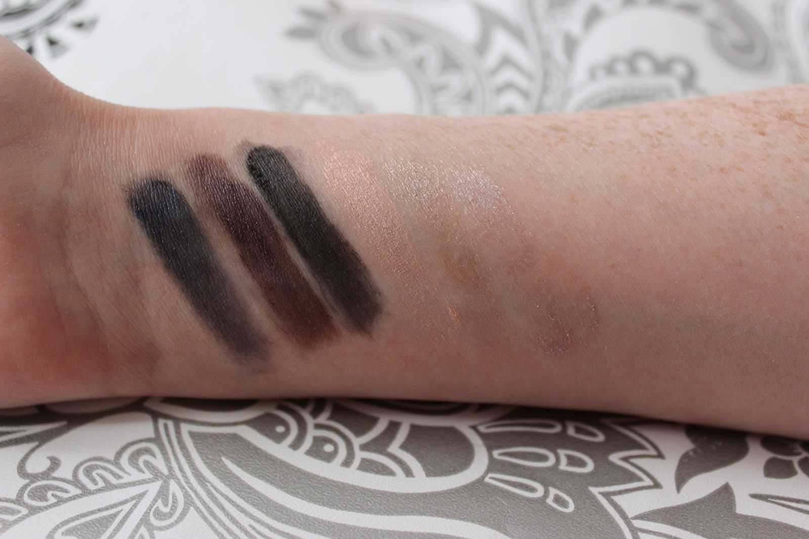 Nars dual intensity eye shadows wet swatches