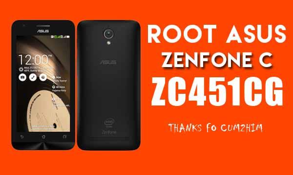Cara Mudah Root Asus Zenfone C ZC451CG