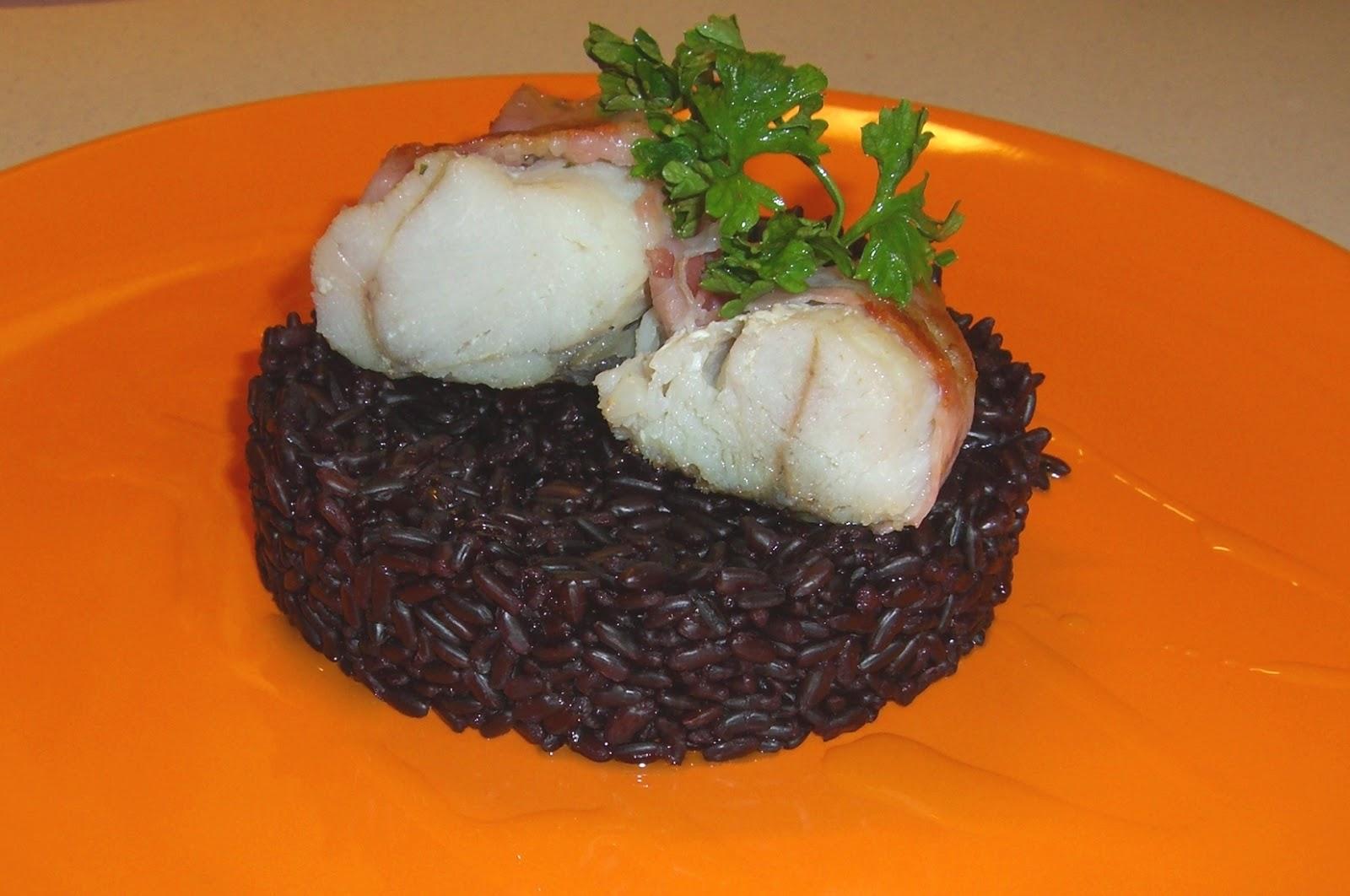 Cucinare assaporare bere e dintorni riso venere e for Cucinare rana pescatrice