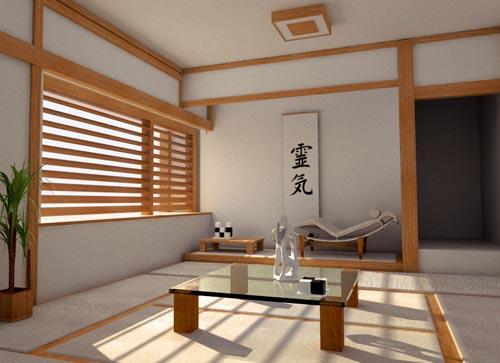 design moderne japonaise salon design interieur france. Black Bedroom Furniture Sets. Home Design Ideas