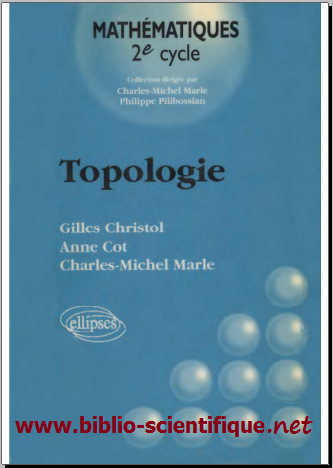 Livre : Topologie 2e cycle - Ellipses Marketing, 1998