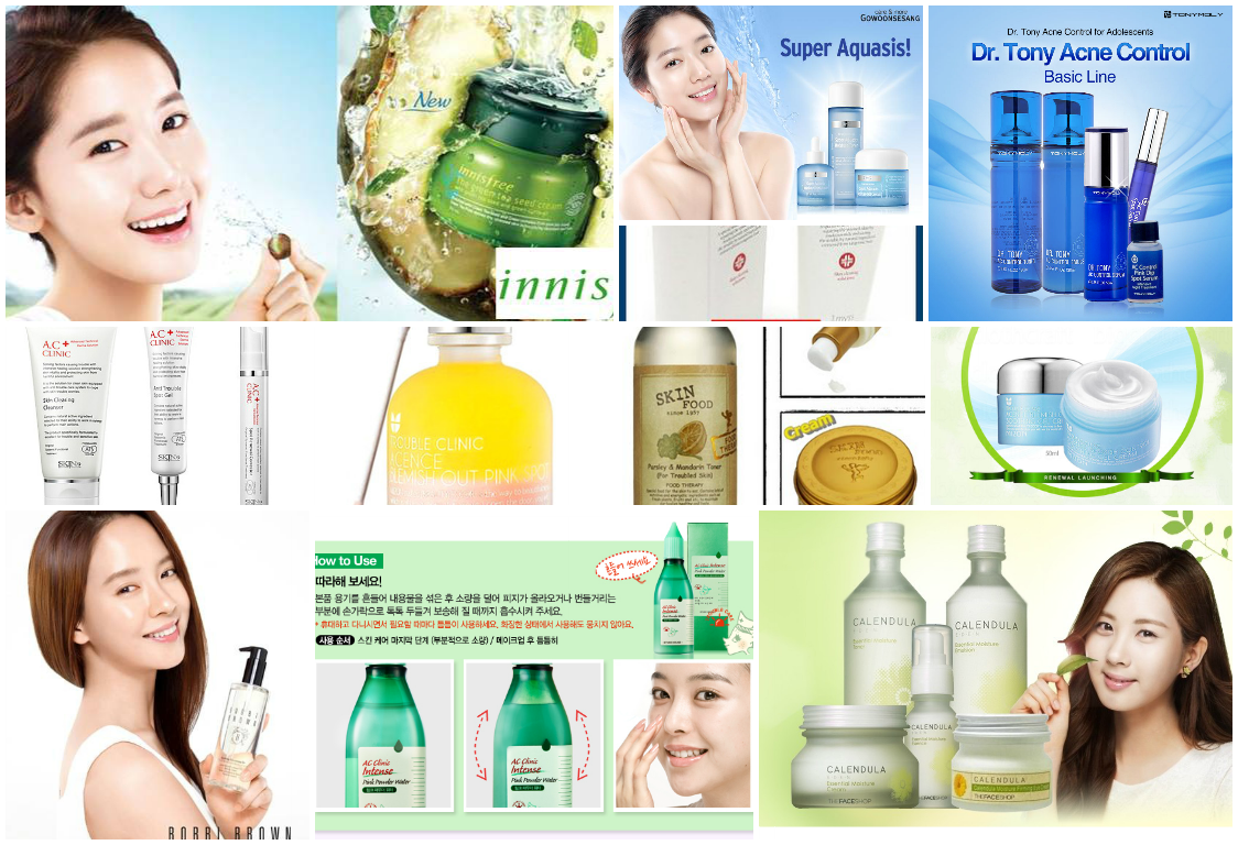 facial products for acne