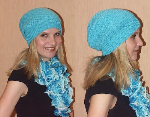 Этапы вязания крючком шапки-