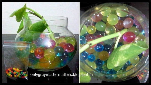Magic Crystal Soil Water Beads for Plants Home Decoration