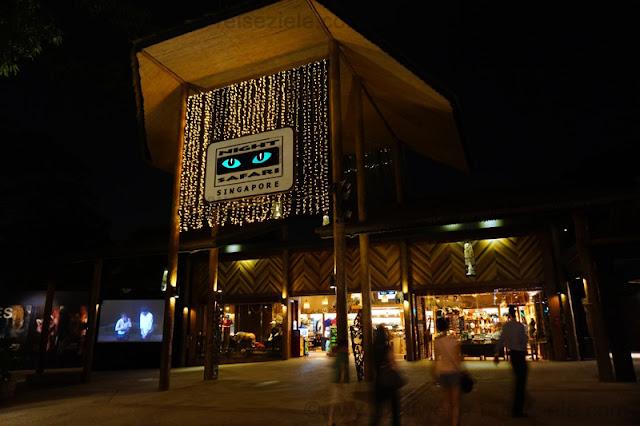 Eingang Zoo Singapur