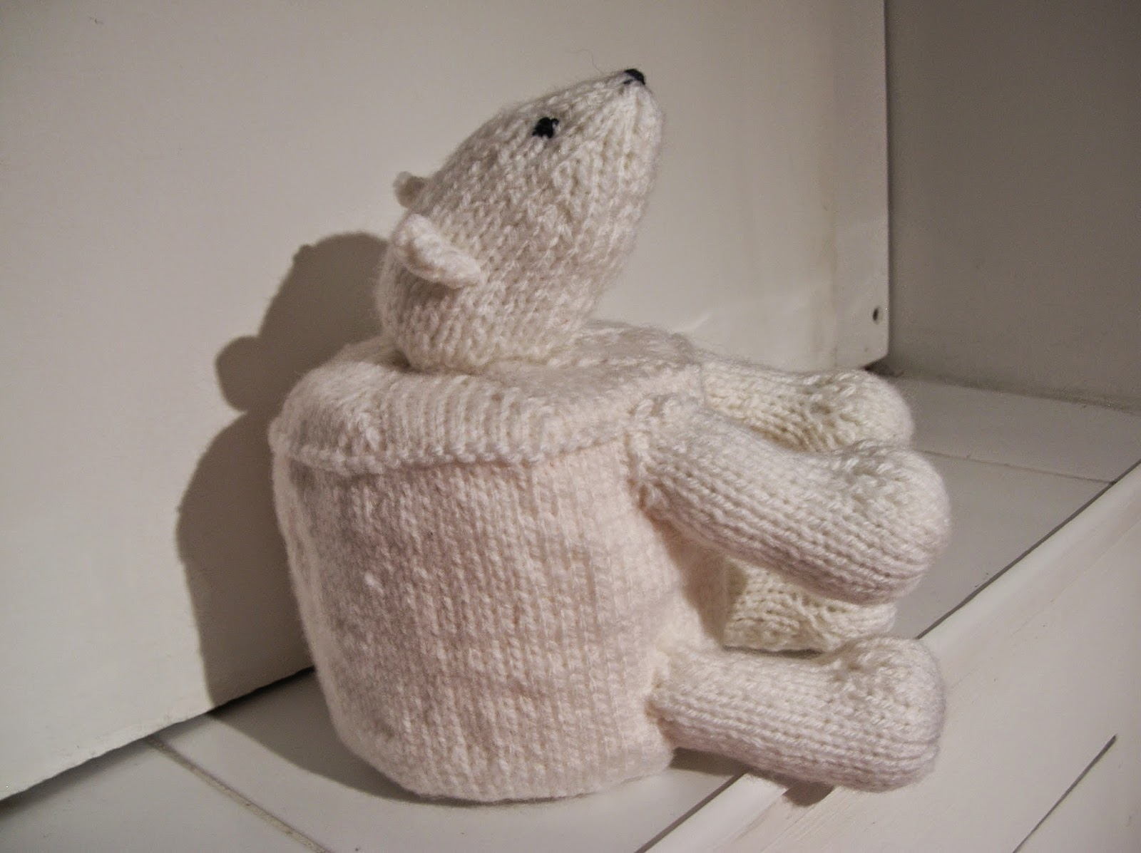 Buttons & Other Adventures: Knitted Toilet Roll Covers...