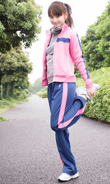 Sasaki Nozomi 佐々木希 Fila Autumn Collection Photos 4