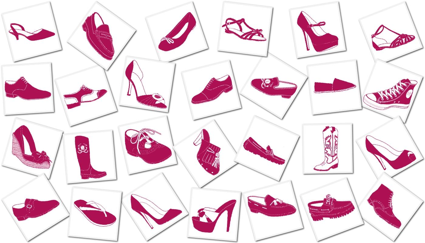 Within my secrets nuestros meseros de boda - Zapatos collage ...