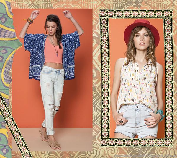 Short y pantalones de moda verano 2015, Rimmel.
