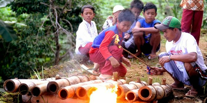 tradisi unik sambut lebaran di indonesia