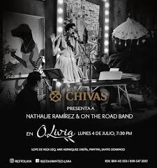 Chivas presenta Jazz en O.Livia - Lunes 4 de Julio - 7:30PM