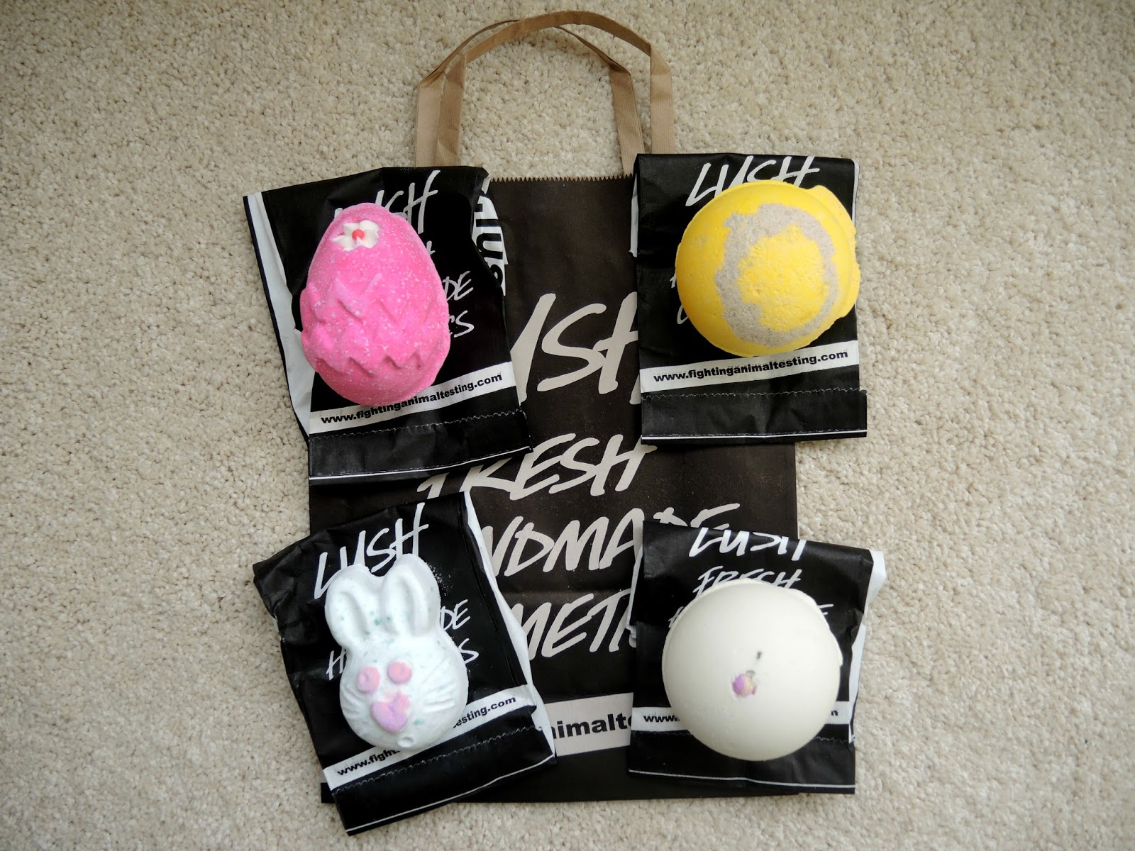 Lush Easter and Mother's Day Haul 2015
