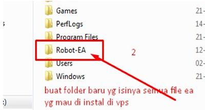 Cara Mudah Membangun VPS Panduan Isntal Robot Forex EA