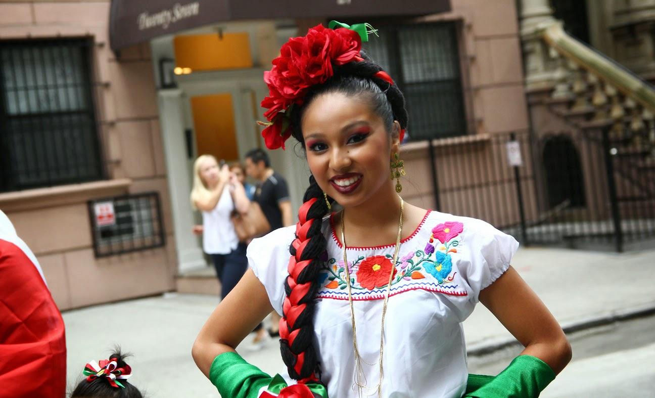 La cultura de Mexico Ballet folclorico Quetzalcoatl de sunset park, Brooklyn, Ny