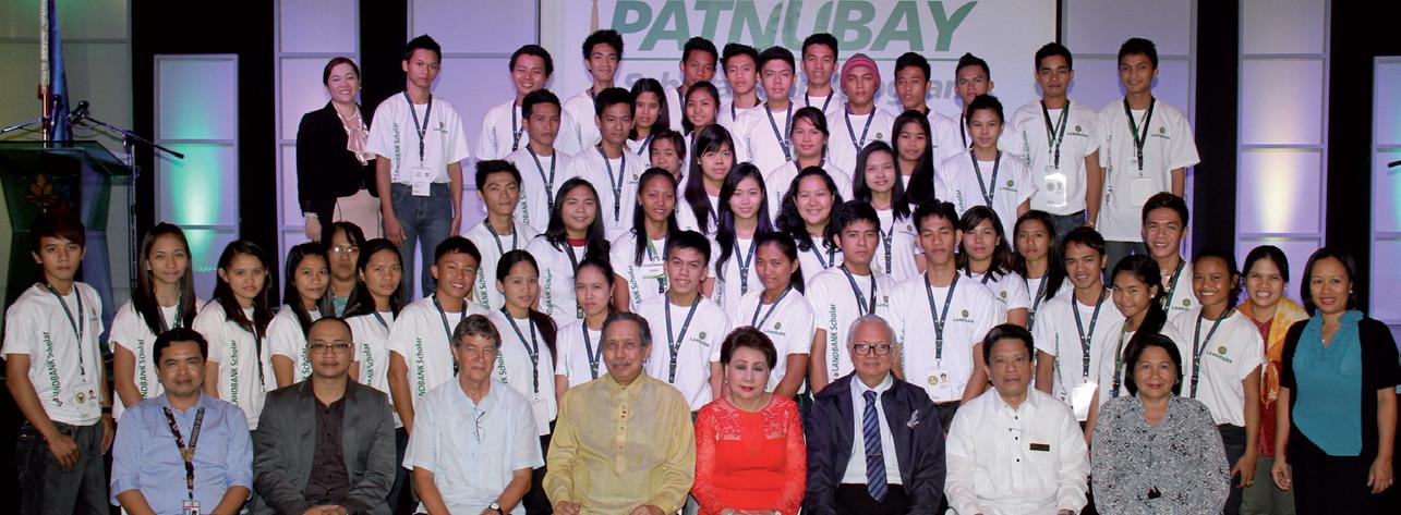 Landbank Awards Certificates of Scholarship to Gawad Patnubay Scholars