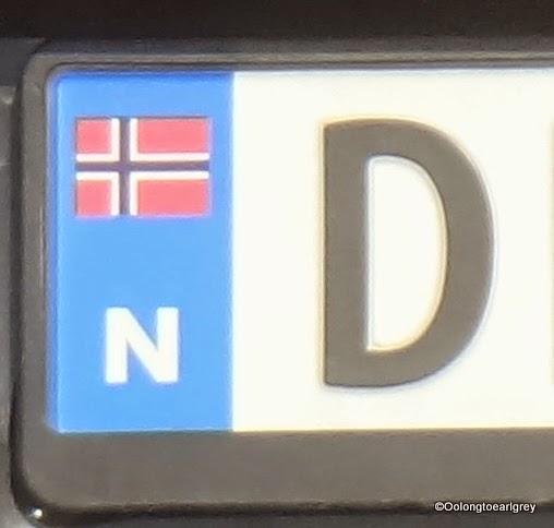 European Numberplate: Norway