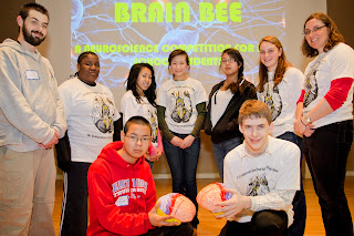 Brain Bee participants