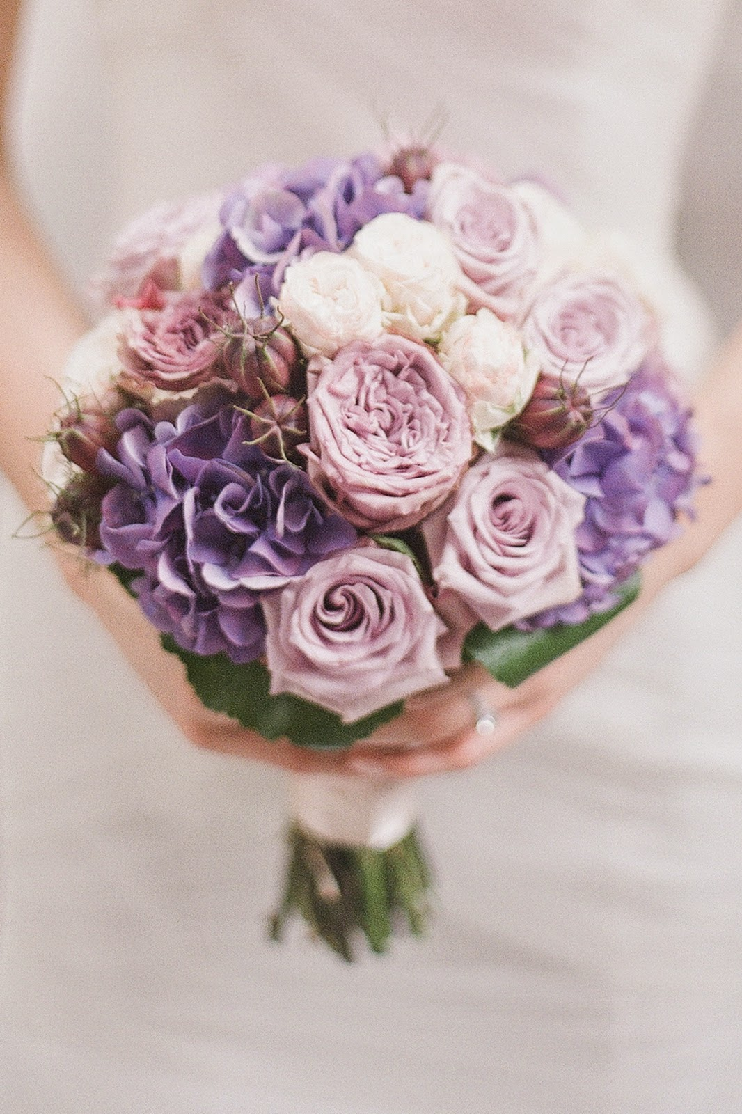 Divine Floral Romantic Purple Wedding At Four Seasons Hotel