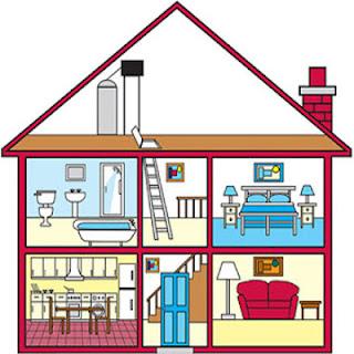 Partes de una casa en ingl s blog para aprender ingles - Casas en ingles ...