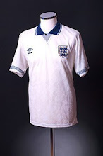 1990-92 England Home Shirt